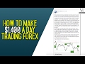 How To Make $1,400 A Day Trading Forex -  Darren Johnson 14 Percent Profit