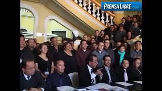Trabajadores del Registro de la Propiedad se pronuncian ante fiscalización de esa institución
