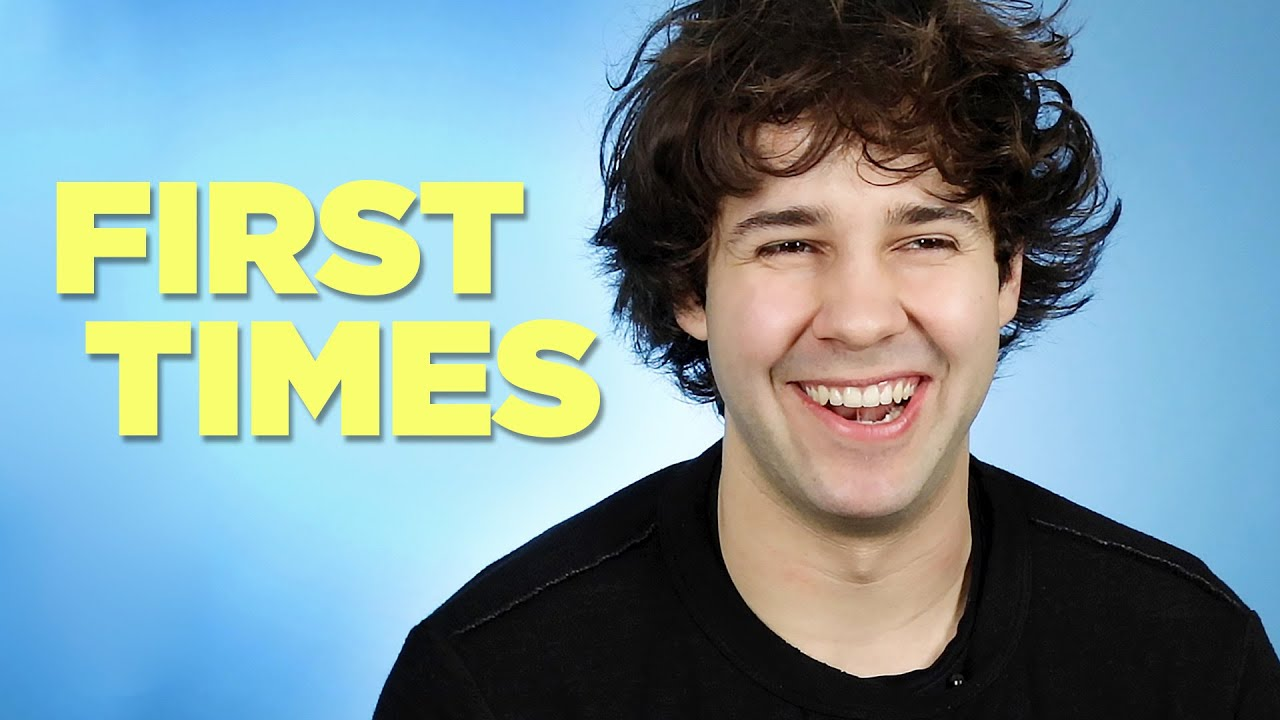 David Dobrik Tells Us About His First Times Youtube