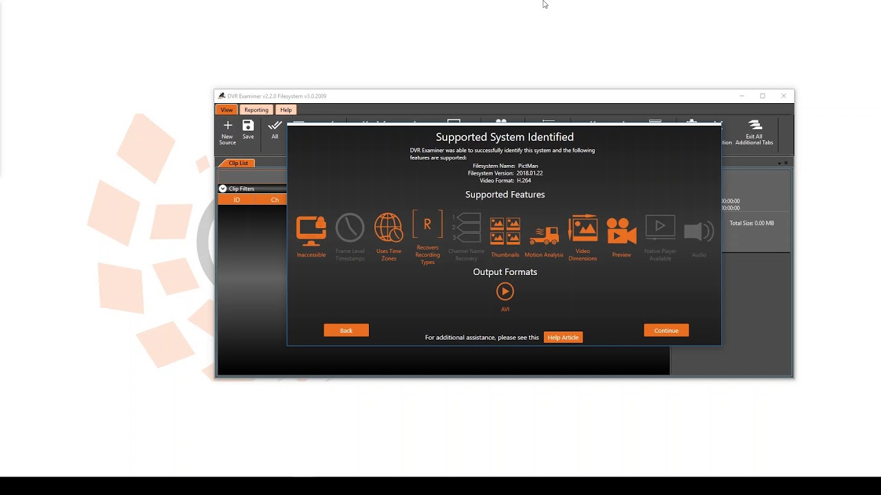 How to Use Filesystem Detection and View Features in DVR Examiner