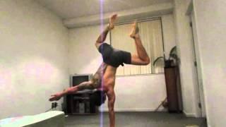 Handstand training september 2013