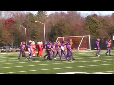 Gordon Heights Knights vs Bellport in Turkey Bowl 2011
