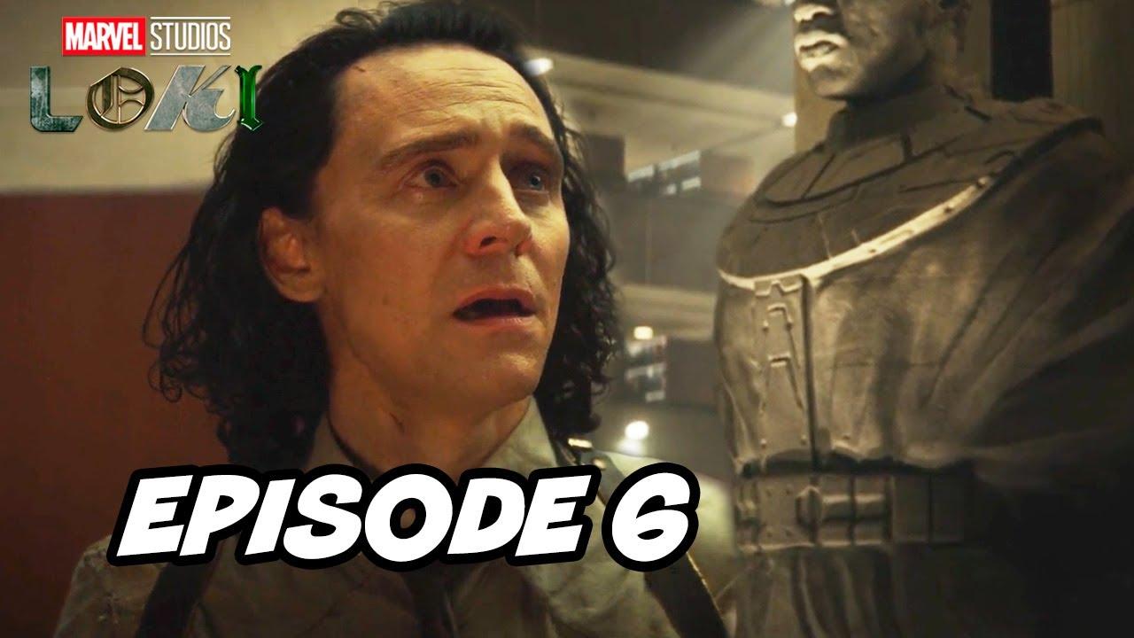 Download Loki Episode 6 Finale Marvel TOP 10 Breakdown Easter Eggs and Ending Explained