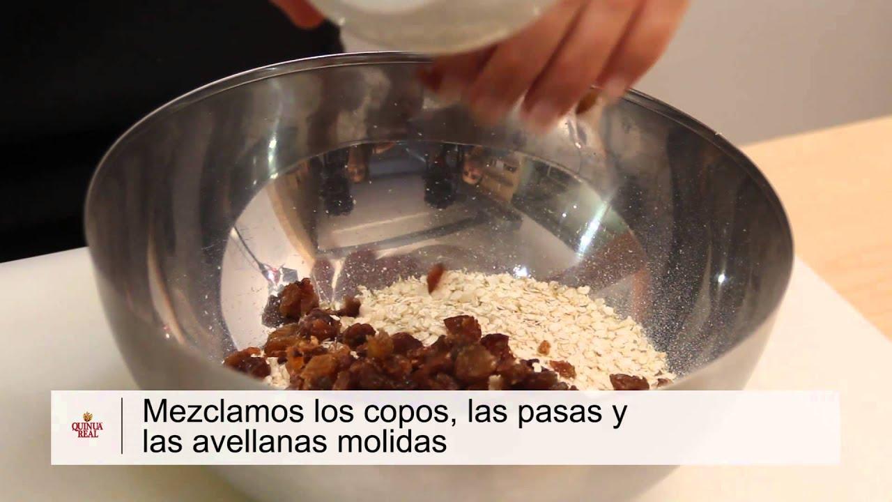 Galletas de Quinua Real con avellanas