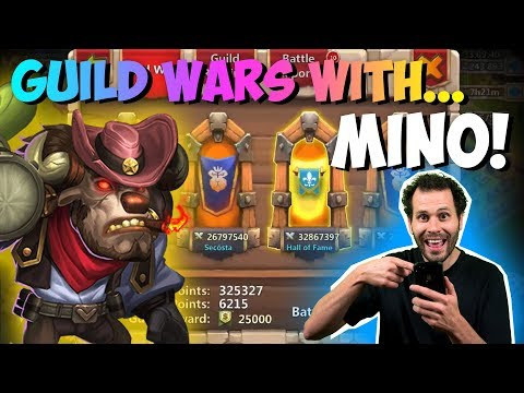 Mino Bombing Guild Wars EASY Castle Clash