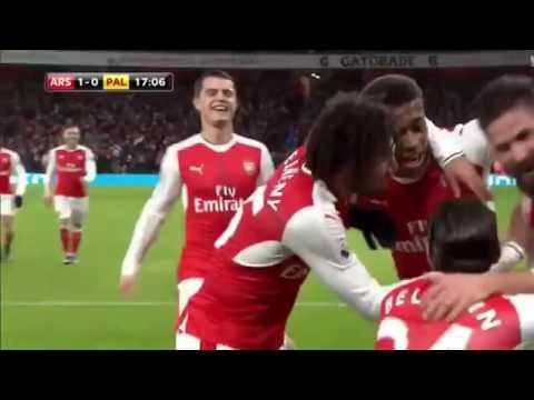 Download Olivier Giroud MAGIC GOAL: Arsenal vs Crystal Palace  1:0  01.01.2017