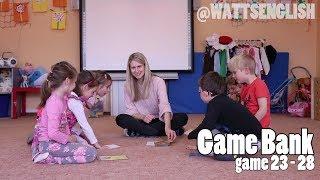Game bank | game 23 - 28 | WattsEnglish