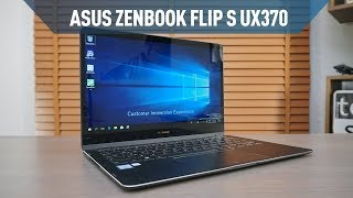 Asus Zenbook Flip S UX370 Laptop İncelemesi