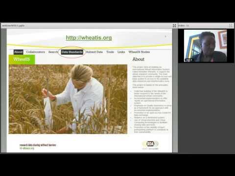 RDA Webinars: Guidelines on Wheat Data (Esther Dzale Yeumo, Richard Fulss)