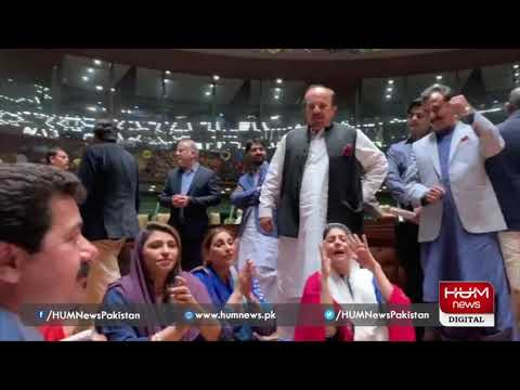 Opposition holds protest in Sindh Assembly
