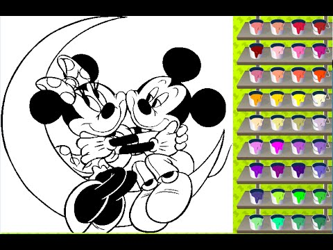 mickey coloring pages free online coloring games - Free Online Color Games