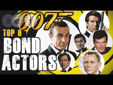 Ranking 007 - Top 6 James Bond Actors