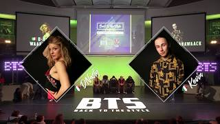 BTS 2019 \\ Waacking 1/2 Final • D Nasty  (Ita) vs Kevin (Ita)
