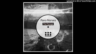 Pano Manara - Voyager - Dub Techno