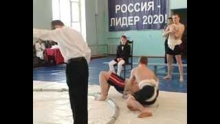 Соревнования по сумо состоялись в Воткинске