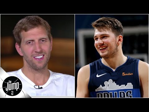 Dirk Nowitzki: Luka Doncic is more savvy than I was at that age | The Jump