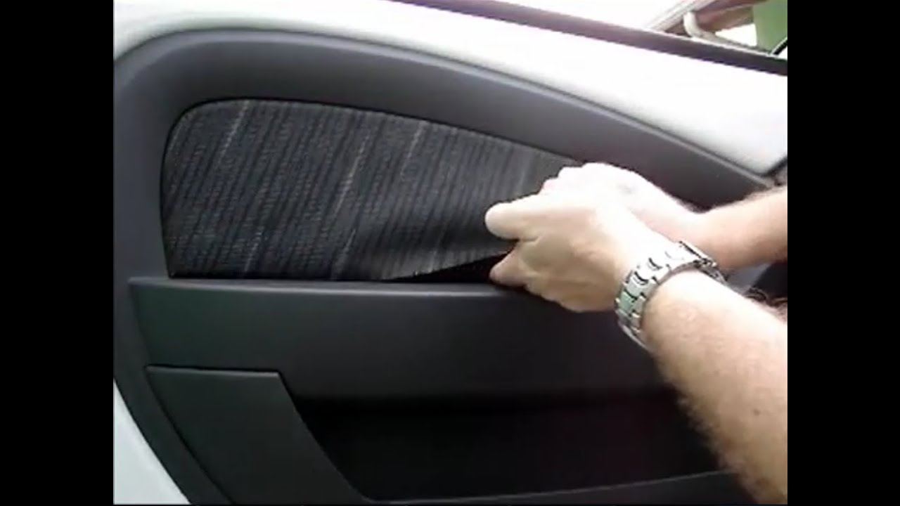 2011 Ford Fiesta >> Painel da porta, forro de porta do Ford Ka 2009, 2010, 2011, 2012 e 2013 - YouTube