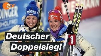 Biathlon: Denise Herrmann holt Sprint-Kristallkugel | SPORTextra - ZDF