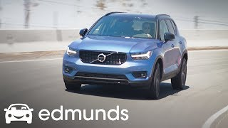 2019 Volvo XC40: At the Edmunds Test Track | One-Lap Review