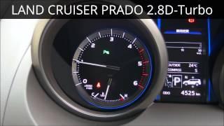 【WOT-100】トヨタランドクルーザープラド 2.8Lディーゼルターボ 6AT 2015 TOYOTA LAND CRUISER PRADO Diesel-Turbo