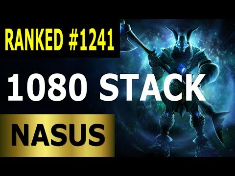 Nasus Jungle - Full League of Legends Gameplay Lets Play LoL - Ranked #1241 thumbnail