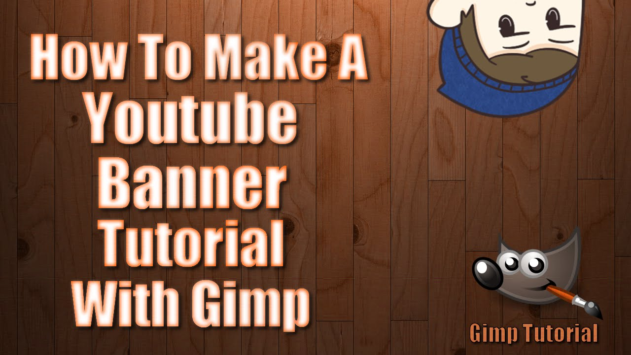 how to make a youtube banner with mineimaotr