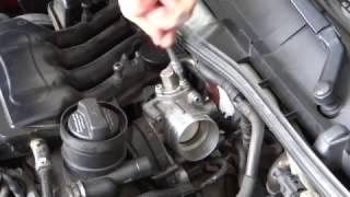 Octavia 1,6 Mpi - vyčištění škrtící klapky