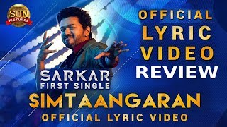 Simtaangaran – Sarkar Single review