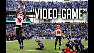 NFL Best Video-Game Like Plays || HD