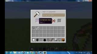 Minecraft Örs Ne işe Yarar