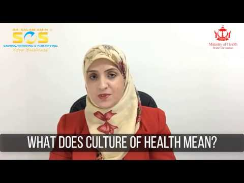 What Does Culture of Health Mean? Dr. Salam Amin Response to Brunei Ministry of Health Inquiry