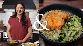 Ann Pittman Makes Simple Crispy Chicken Thighs | F&W Cooks