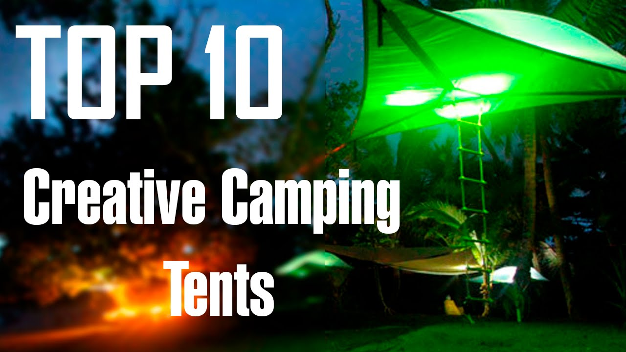 Top 10 Strange and Creative C&ing Tents - YouTube & FLOATING TENT? - Top 10 Strange and Creative Camping Tents - YouTube