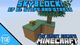Skyblock for Minecraft Bedrock PS4! Ep 01