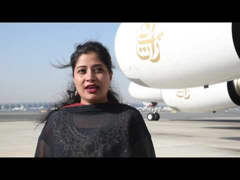 Teena Shivhare interview | India Republic Day | Emirates
