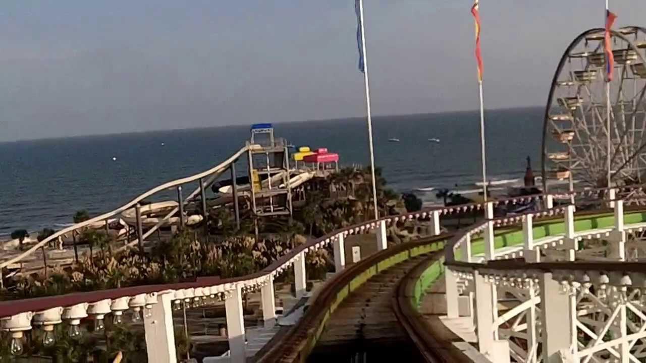 Myrtle Beach Swamp Fox Roller Coaster