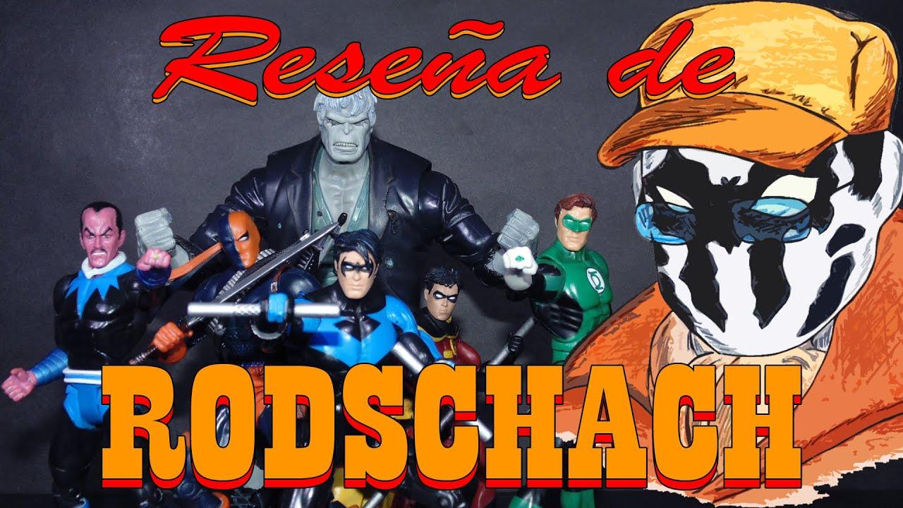 Reseña de Rodschach: DC Universe Classics Serie 3