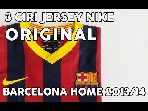 3 CIRI JERSEY NIKE ORIGINAL (Barcelona Home 2013/2014)