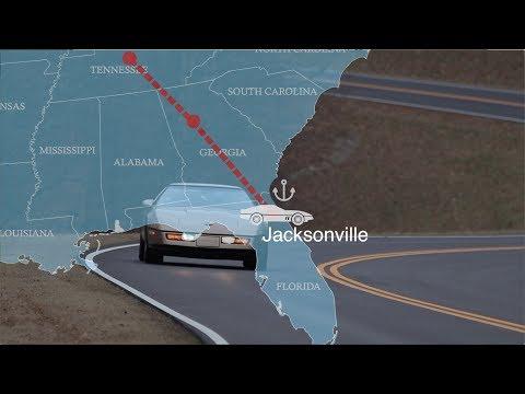 Corvette C4 USA Road Trip