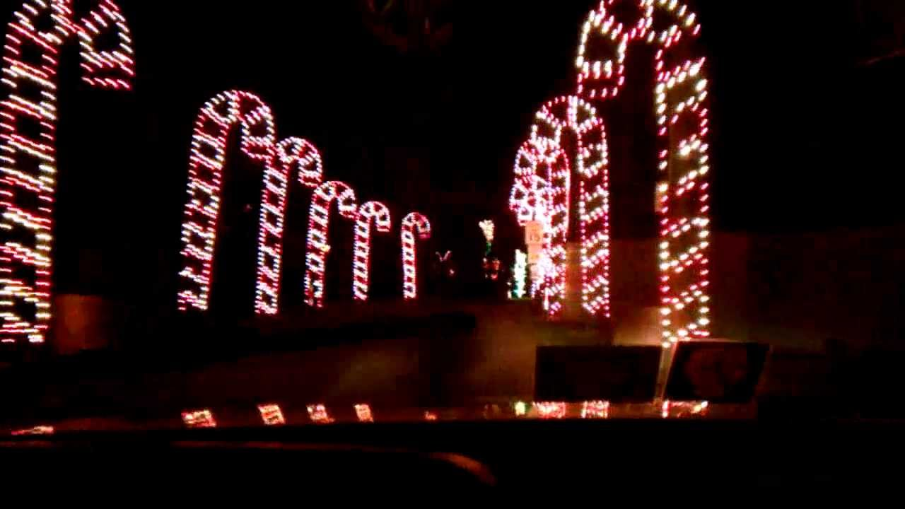 West Virginia Holiday of Lights - YouTube