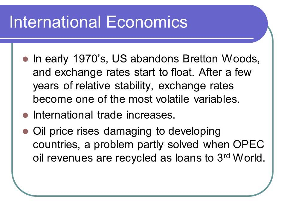 An introduction to the analysis of macroeconomics