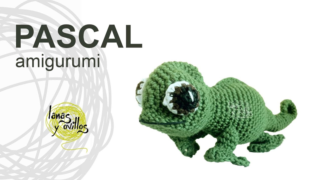 Crochet Chameleons : Tutorial Camaleon Amigurumi Chameleon (english subtitles) - YouTube