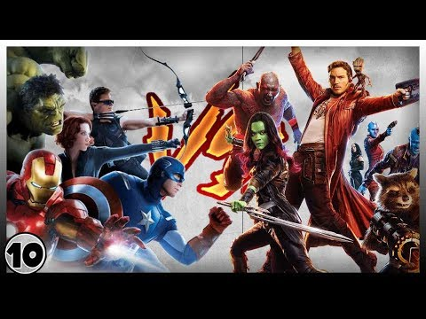 Avengers VS Guardians of the Galaxy