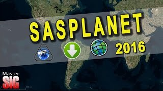 SASPLANET Descargar imágenes de Google Earth, Maps (georeferenciadas) a ArcGIS | MasterSIG Free HD Video