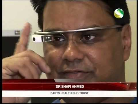 Google glass surgery Shafi Ahmed S Channel 2014