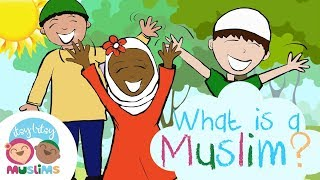 What is a Muslim? | Itsy Bitsy Muslims | Nursery Rhymes for children (video)