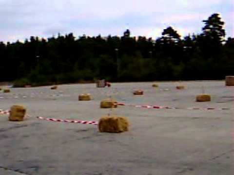 Supermoto-Training in Bergen 2005