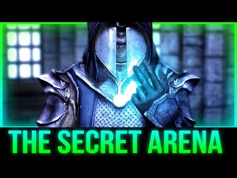 Skyrim's Secret ARENA - Battle with The Ultimate Mage! thumbnail