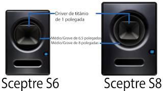 PreSonus—Monitores de Estúdio Sceptre—Português