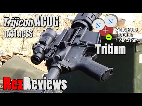What REALLY makes the Trijicon ACOG so Different? ~ Rex Reviews